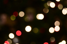 Out Of Focus Holiday Lights Fo...