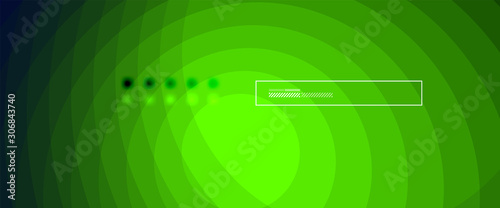 Photo Abstract color gradient fluid design background