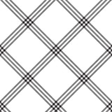 Black white color plaid seamless pattern - 306846131