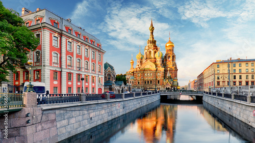 Cadres-photo bureau Pays d Asie Church of the Saviour on Spilled Blood, St. Petersburg, Russia