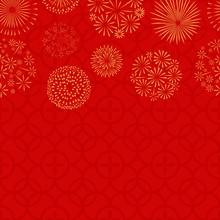 Chinese New Year. Asian Seamle...