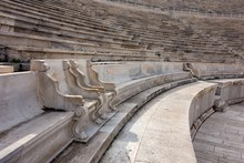 Two Emperor Marble Seats Of Th...