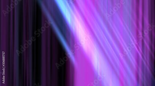 Obraz na plátně Abstract multicolored striped background