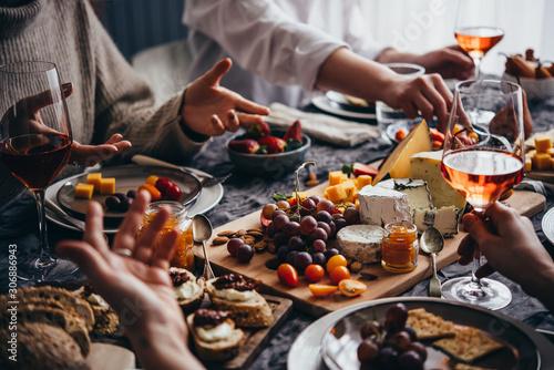 Valokuva  Dinner party
