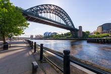 Tyne Bridge, Newcastle Upon Tyne Looking Toward Gateshead