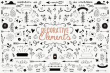 Big Collection Of Decorative E...