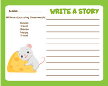 Animals Theme Writing Prompt F...