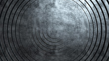 Abstract Pattern Of Circles Wi...