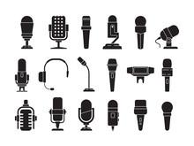 Microphone Icon. Sound Record ...