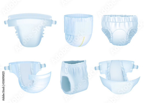 Photographie Diaper baby