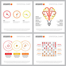 Set Of Colorful Infographic De...