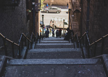 Stairs In Harlem