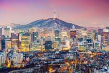 Seoul, South Korea Cityscape
