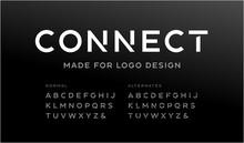 Minimalistic Font For Logo Des...
