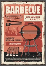 Barbecue Summer Party Vintage ...