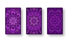 Floral Stylized Purple Pattern...