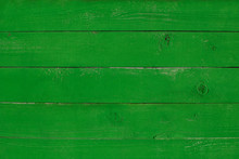 Bright Green Wooden Painted Ba...