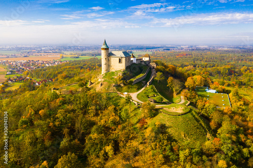 Kuneticka Hora Castle, Pardubice Region Canvas