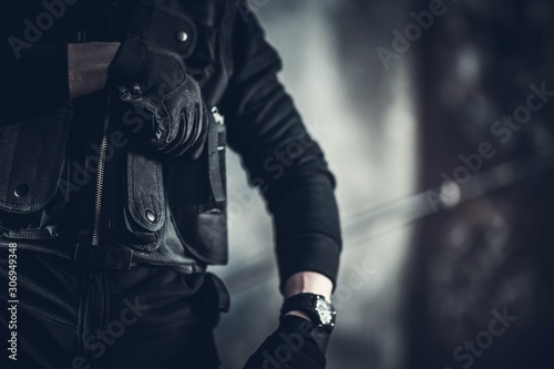 Fotografiet Security Guard Job