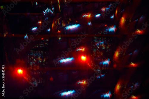 Photo abstract digital design backdrop glitch error