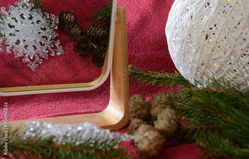 Obraz Boże Narodzenie, klimat - fototapety do salonu