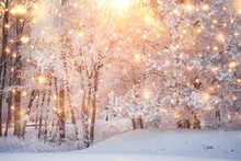 Scenic Christmas Background
