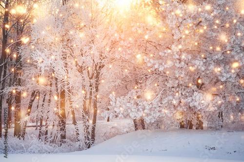 Scenic christmas background #306961905