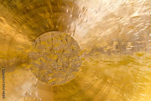 chinese chau gong closeup