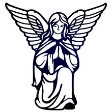 Laser Cutting Template. Angel ...