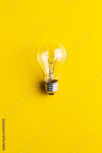 Classic light bulb Wall mural
