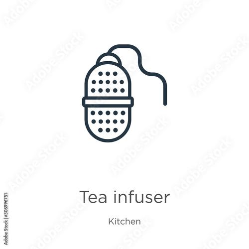 Fotografija Tea infuser icon