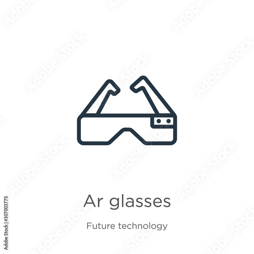 Photo Ar glasses icon
