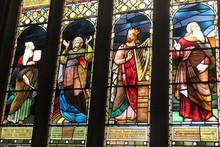 Kirchenfenster In Der Church Of The Holy Rude, Stirling, Schottland