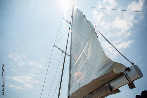 Sailing yacht, Turkey Fototapeta