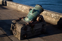 18th Century Mortar Cannon At ...