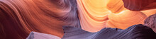 Antelope Slot Canyon Near Pager Arizona. Abstract And Colorful Background.