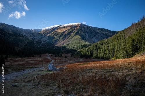 góry tatry hala kondratowa jesień zima