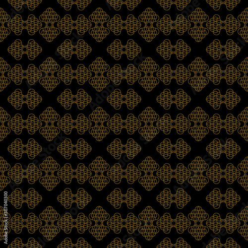 Photographie  Luxurious floral pattern