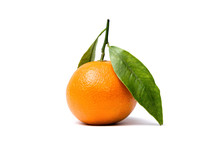 Clementine Mandarin With Leafs...