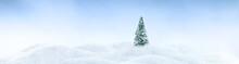 Wintery Landscape Background W...