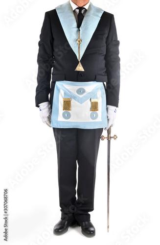 Obraz na plátne freemason in studio