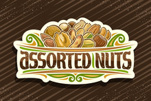 Vector Logo For Assorted Nuts,...