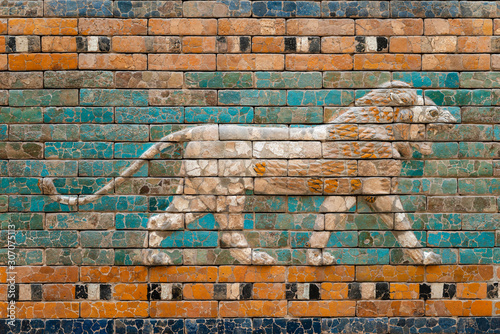 Fotografia Babylon wall relief