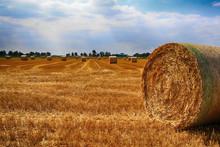 Autumn, Straw Bale, Straw Bale...
