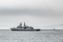 South African Navy Frigate War...