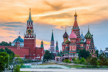 Kremlin And St. Basil's Cathed...