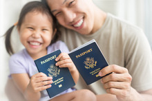Happy Immigrant Family Becomin...
