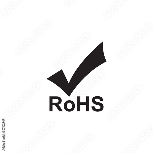 Fototapeta Rohs icon symbol vector illustration obraz