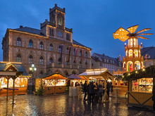 Weimar, Germany. Christmas Mar...