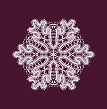 White Lace Vector Clip Arts. N...